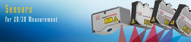 Sensors for 2D/3D Measurement